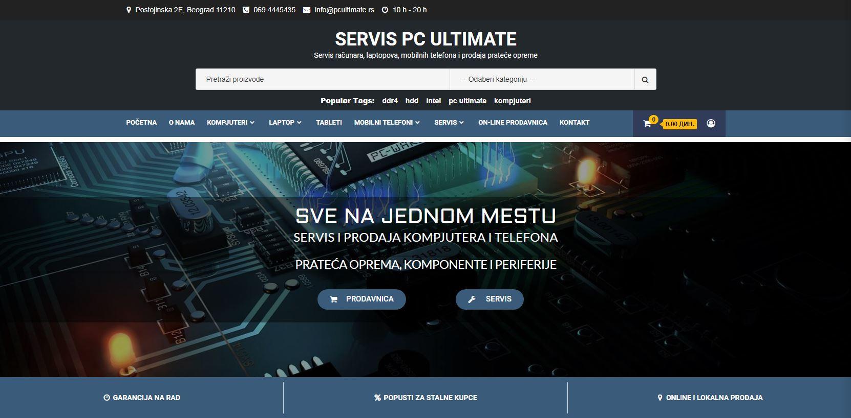 PC Ultimate Servis Računara