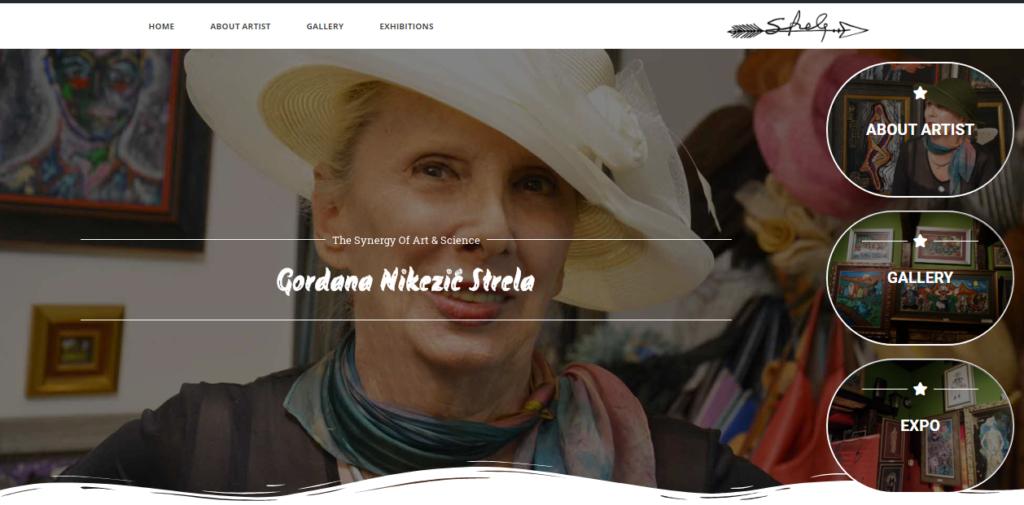 Strela Art – Gordana Nikezić Strela
